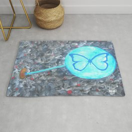 Transformation Abstract Art By Saribelle Rodriguez Rug