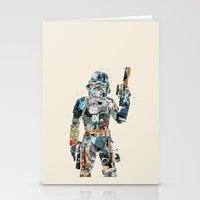 trooper Stationery Cards featuring modern trooper by bri.buckley