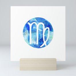 Virgin. Sign of the zodiac. Mini Art Print