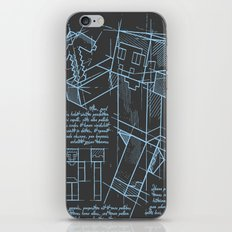 Plan Mine iPhone & iPod Skin