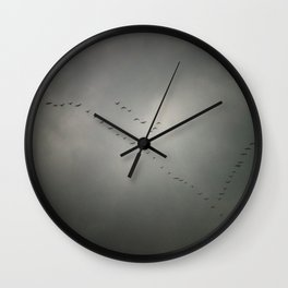 Comeback Wall Clock