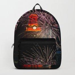 Fireworks, University of Texas Backpack