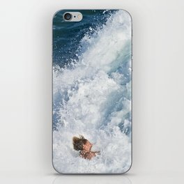 Sports Wipe Out Surf City USA iPhone Skin
