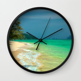 Holiday Destination Wall Clock