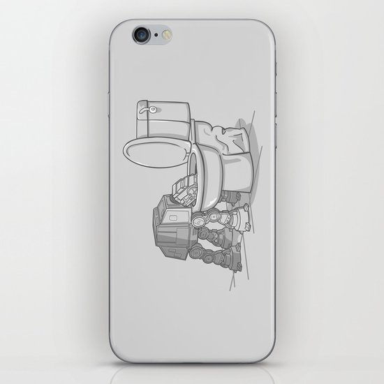 Bad, bad Walker iPhone & iPod Skin