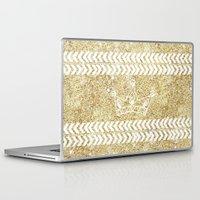 crown Laptop & iPad Skins featuring CROWN by Sara LG
