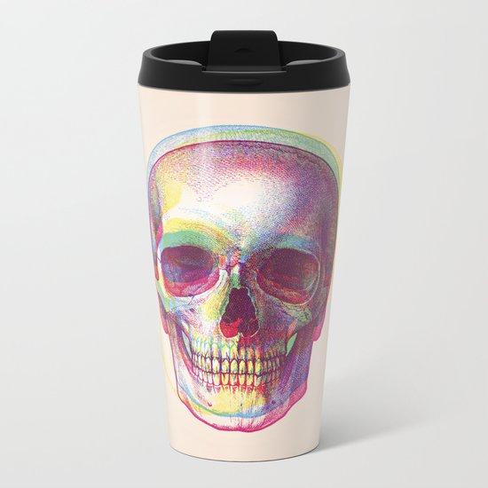 acid calavera Metal Travel Mug