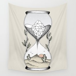 Time Is Running Out Wall Tapestry