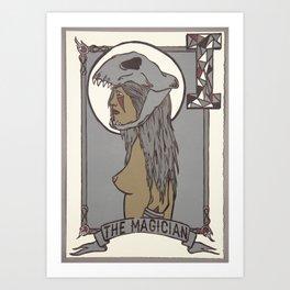 The Magician Art Print