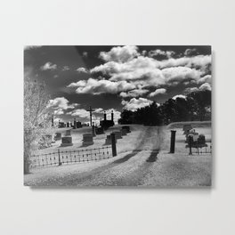 Infrared photography Metal Print