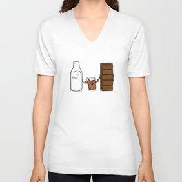 Chocolate + Milk Unisex V-Neck