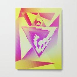 Dragon heart Metal Print