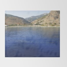 Crete, Greece 9 Throw Blanket