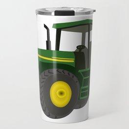 Green Farm Tractor Travel Mug
