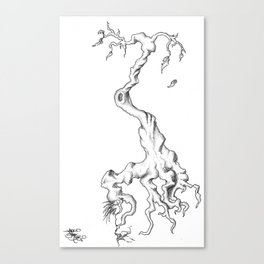 Floating Tree #1 Canvas Print