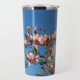 Magnolias Discovered Travel Mug