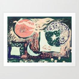 Yesterday Art Print