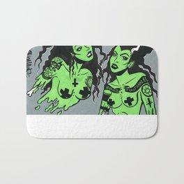 Zombie Women Bath Mat