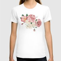 wwe T-shirts featuring Watercolor rose by eARTh