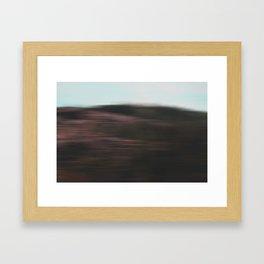 It's all a blur Framed Art Print