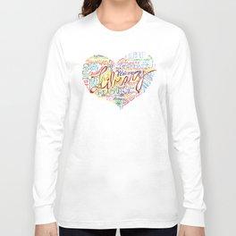 Library Heart Long Sleeve T-shirt