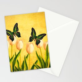 In the Butterfly Garden Stationery Cards