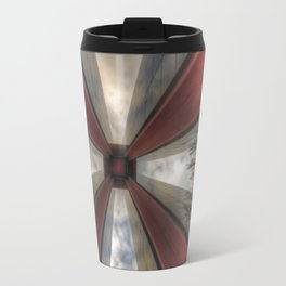 Red in the tower Travel Mug