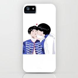 BTS Taekook art iPhone Case