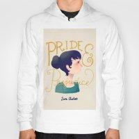 pride and prejudice Hoodies featuring Pride and Prejudice by Nan Lawson