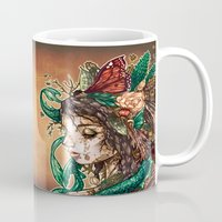 beast Mugs featuring BEAST by Tim Shumate