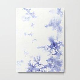 Minimalist blue painting Metal Print