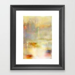 Mist on the Thames Framed Art Print