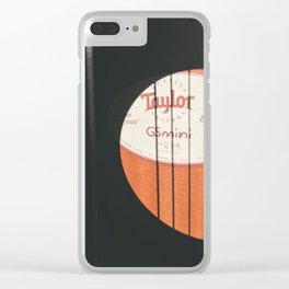 This Old Guitar pt.2 Clear iPhone Case