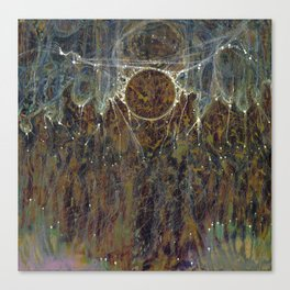 Nebulous Portal Emergence (Electric Gateway) Canvas Print