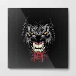 Angry Dog Metal Print