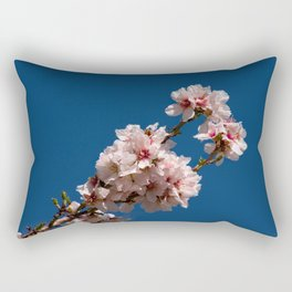 Spring Cherry Tree Blossoms - I Rectangular Pillow
