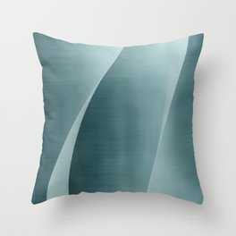 Double Wave Throw Pillow