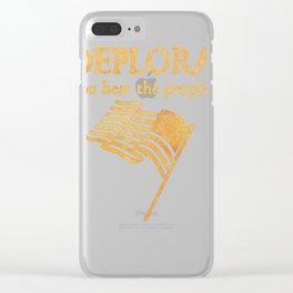 Les Deplorables Clear iPhone Case