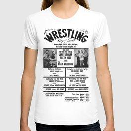 #11 Memphis Wrestling Window Card T-shirt