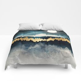 Indigo Night Comforters