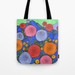 Colors in the Blue Ridge Mountains Tote Bag