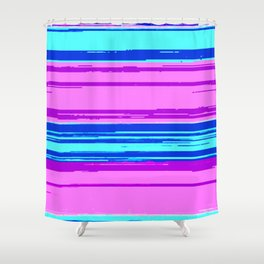 Late Friday Night Shower Curtain