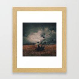 The Dissipate Framed Art Print