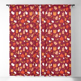 Autumn pattern Blackout Curtain
