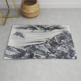 Waterfall, Eagle And Monkey - Digital Remastered Edition Rug