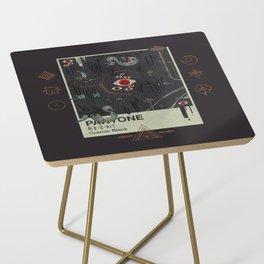Cosmic Black Side Table
