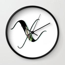 xanthosma Wall Clock
