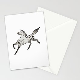 Grey Horse Stationery Cards