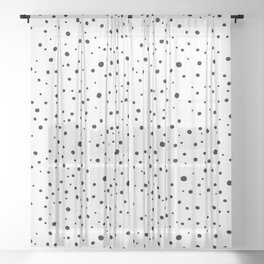 Spots Sheer Curtain
