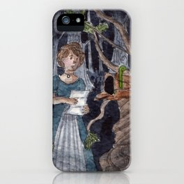 A Letter From Stranger iPhone Case